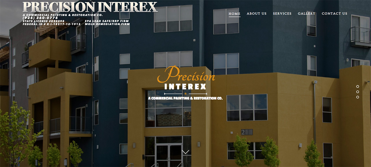 Interior exterior painting martinez highest quality paints concord Exterior commercial painting